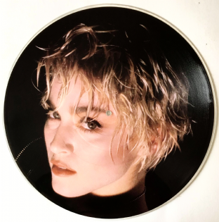 "Madonna - Papa Don't Preach (12"") (Picture Disc) (EX/NM)"